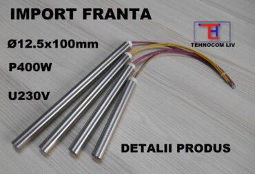 Rezistenta electrica tip cartus D12.5XL100mm 400 Wati