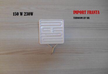 emitatoare ceramice 122x122mm 150 W