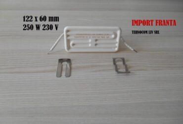 emitatoare ceramice 250w 122x690 mm