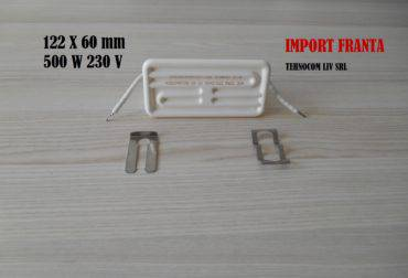 emitatoare ceramice 500w 122x60 mm