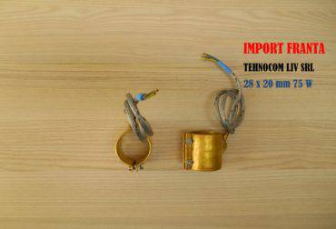 Rezistente electrice banda, L 20 mm