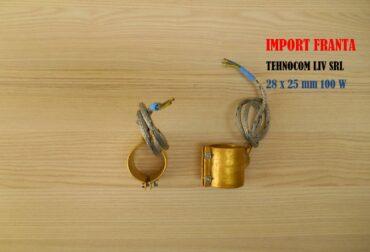 Rezistente electrice banda,L 25 mm