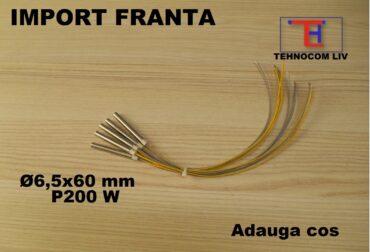 Cartuş incalzitor L60XD6.5mm 200 Wati 230V