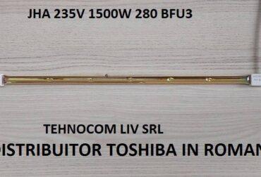 Lampa incalzire infrarosii JHA 235V 1500W 280 BFU3