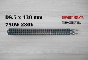 rezistenta electrica 8.5x430 750w