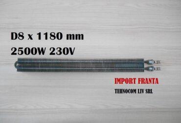 rezistenta electrica 8x1180mm 2500w