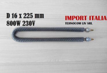 Rezistente electrice cuptoare ventilate Ø16x225mm 800Wati