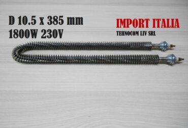 rezistente electrice pentru cuptoare industriale diametru 10.5 mm