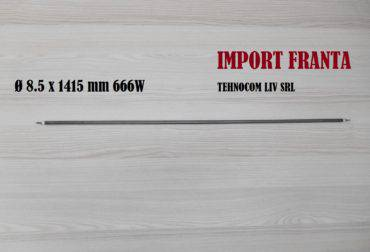 Rezistenta electrica cuptor static D8.5XL1415mm 666W