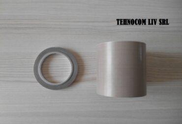 Banda tesatura teflonata rola fara adeziv 0.13 mm
