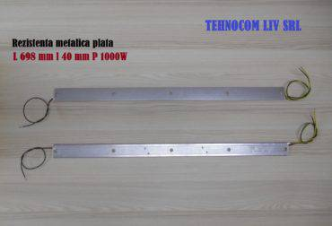 Rezistenta metalica plata Lungime 698 mm 40mm 1000w
