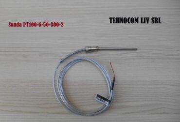 Sonda termostat PT100-6-50-300-2