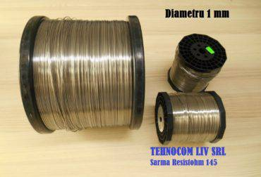 Sarma Kanthal A1 Resistohm145 Diametru 1mm