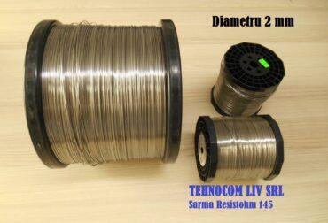 Nichelina KanthalA1 2mm Crom Aluminiu Fier