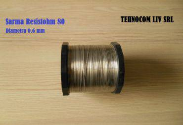 Nichelina de taiat D0.6mm Resistohm80 Ni80%Cr20%