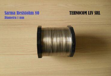 Sarma nichelina diametru 1 mm Resistohm 80