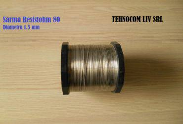 Sarma rezistiva diametru 1.5 mm