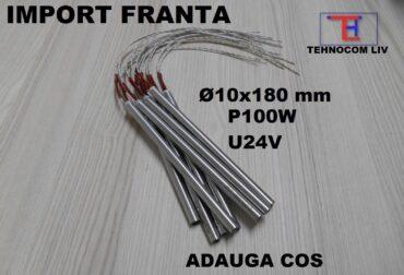 Rezistente electrice cartus D10x180mm P100W U24V